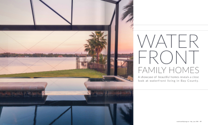Waterfront Living Article